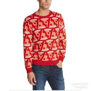 Pizza Sweater sz L